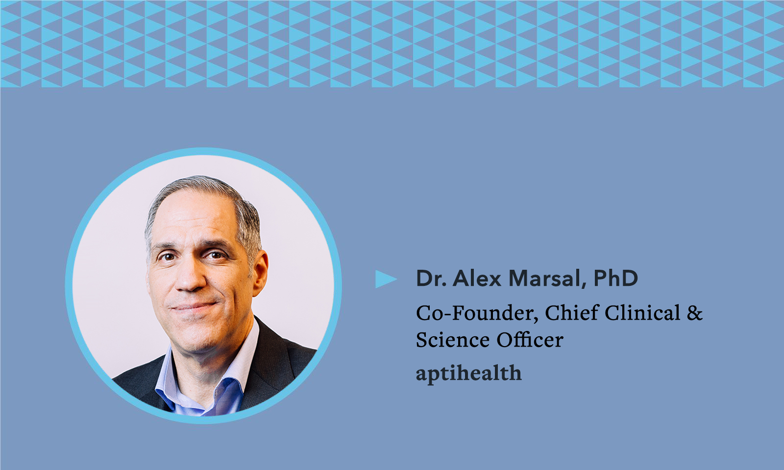 Mental Health Awareness Month - Company Spotlight: Dr. Alex Marsal and aptihealth