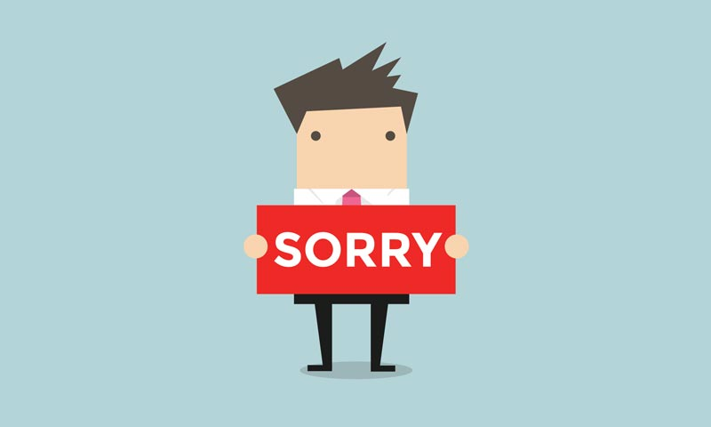 Chronic Apologizing: How it Stands in the Way of Being Taken Seriously